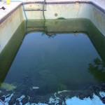 Lakeland Swimming Pool Drain and Clean